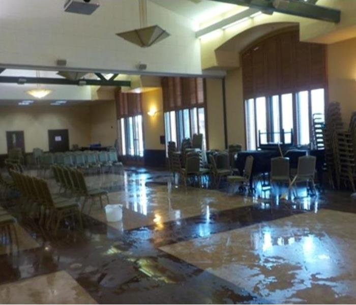 Senior Center Water Damage